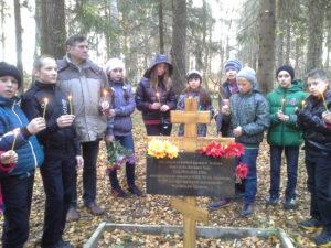 Buraševo-koolilapsed-õpetaja-Venjamin-Roberti-p.Kullaga